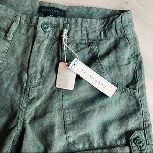 Sanctuary Explorer Patch Pocket Short   100% linen